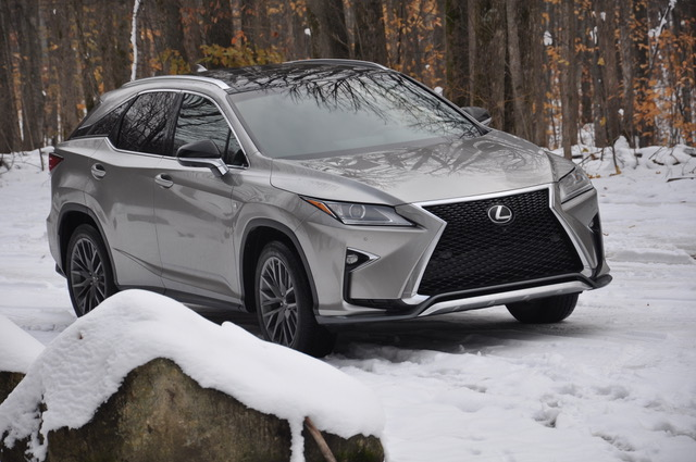 2018 Lexus RX350 F-SPORT to Boyne Mountain